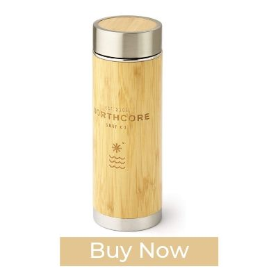 Northcore Bamboo Wooden Thermos