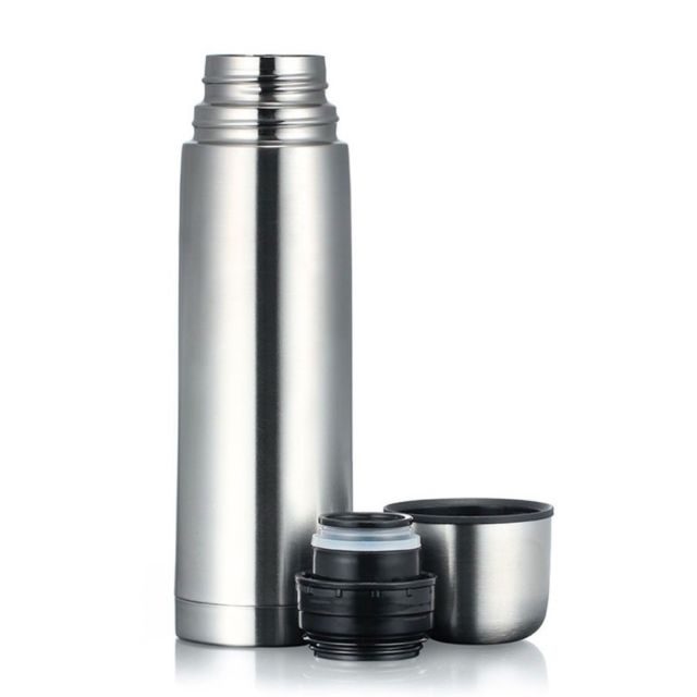 Silver Thermos Flasks