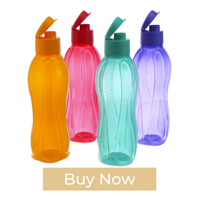 Tupperware Aquasafe Flip Top Bottle