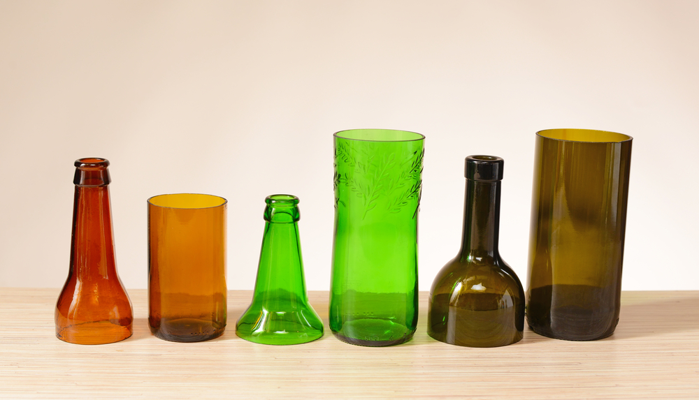 Cut Glass Bottles