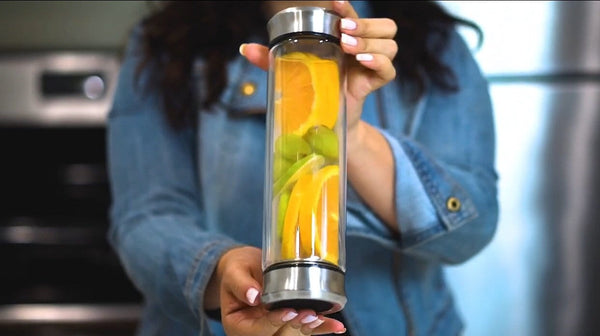 Double Side Infuser Bottle