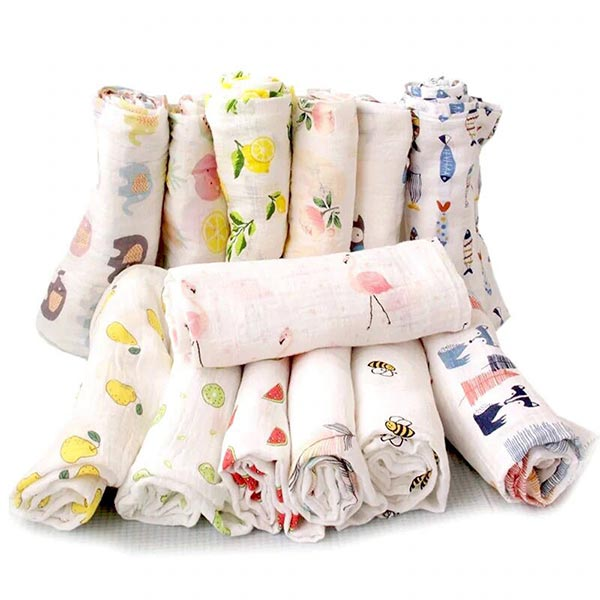 Flamingo Wrap - Baby Organic Swaddle
