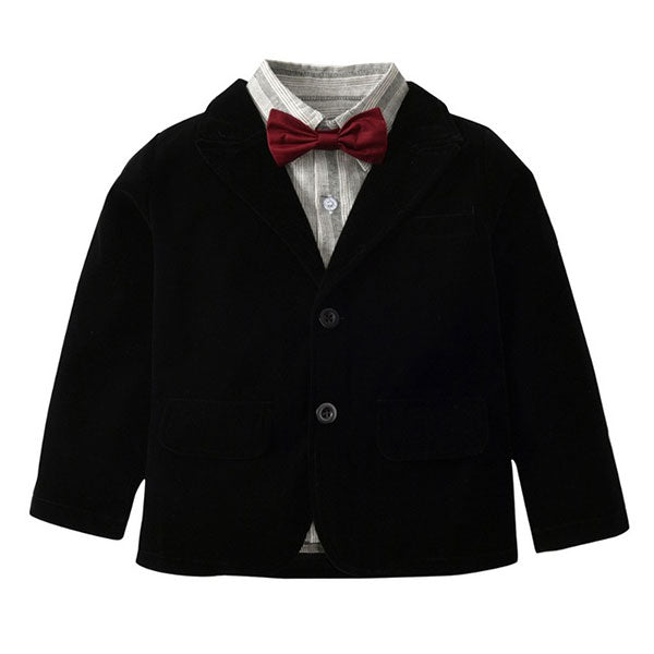 Little Gentleman - Toddler Boy 5-Piece Suit