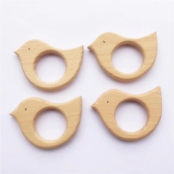Friendly Wooden - Baby Organic Teether