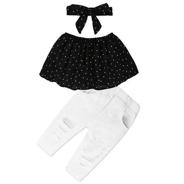 Hanging Neck Top - Baby Girl Toddler
