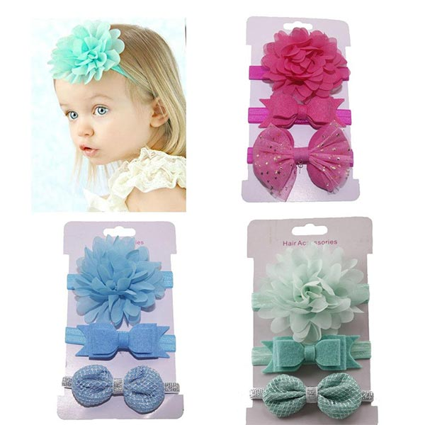 Flower Headwear - Baby Girl headbands