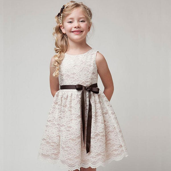 Swan - Toddler Girl Party Wear Dress