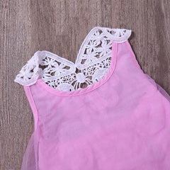 Pink Petal Knee Length - Bay Girl Outfit