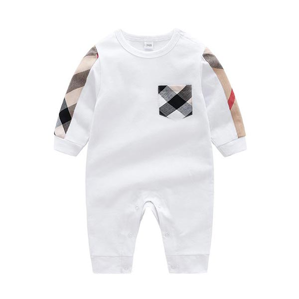 Long Sleeve Cotton - Baby Boy Romper