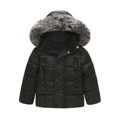 Thick Hooded - Baby Boy Jacket