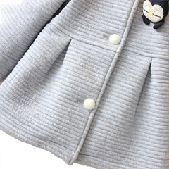 Single Penguin - Baby Girl Jacket