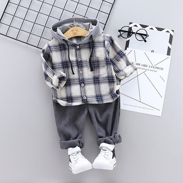 Toddler Boy 2-Piece Hoodie & Jogger Set