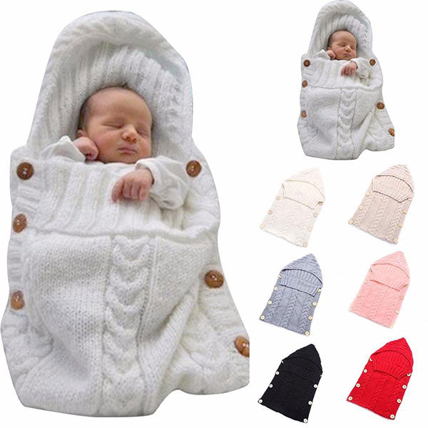 Mavis Woolen - Baby Wearable Blanket