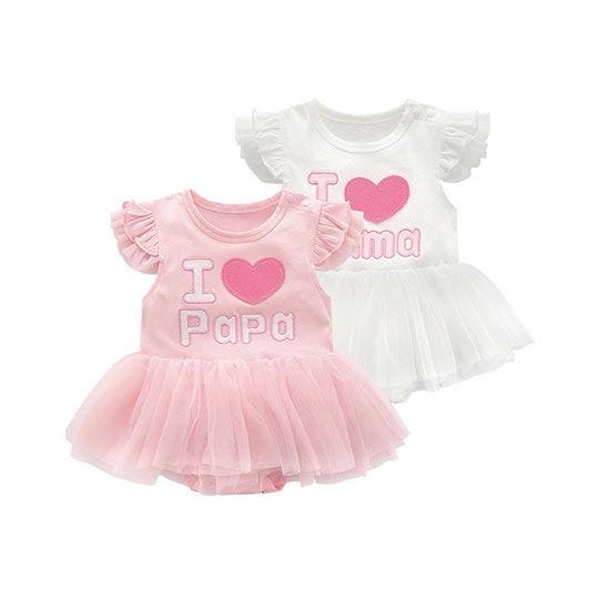 Baby Girls Ruffle - Parents Love
