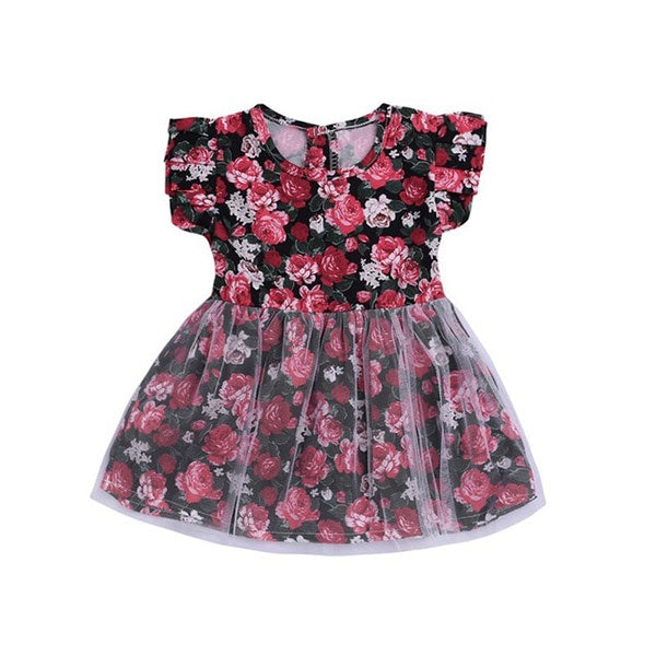Red Rose - Baby Girl Summer Dress