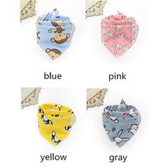 Cartoon Bandana - Baby Bib