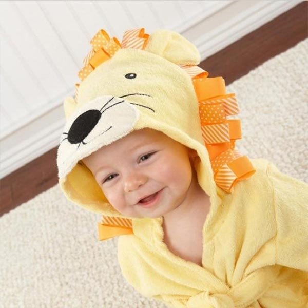 Animal Bathrobe Hooded - Baby Towel
