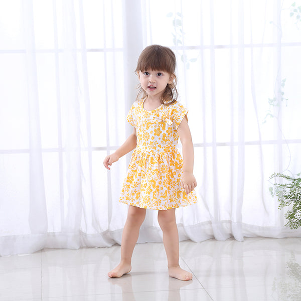 Florally - Toddler Girl Summer Dress