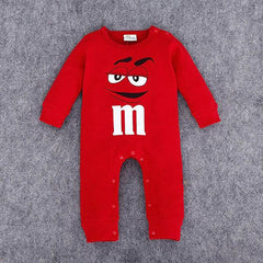 M&M Baby Long Sleeved Jumpsuit