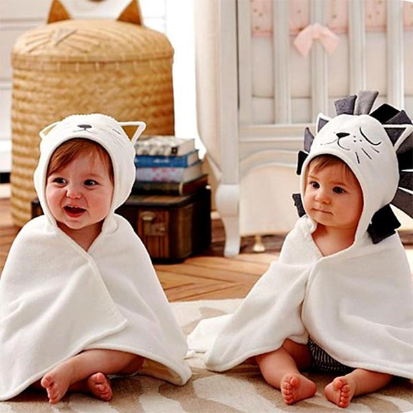 Cape Cloak - Newborn Baby Bath Towel