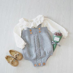 Madelyn Retro Style - Baby Girl Romper