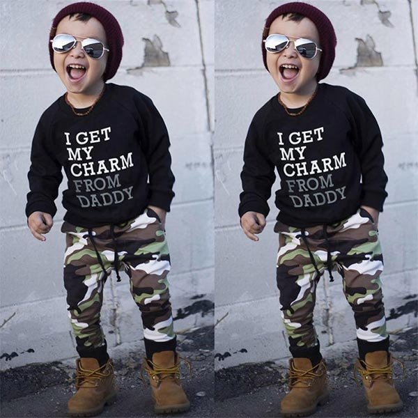 Charm Camouflage - Baby Boy Toddler