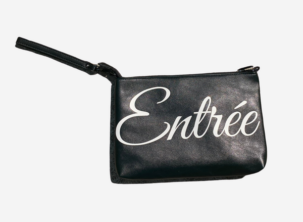 Entree Faux Leather Pouch