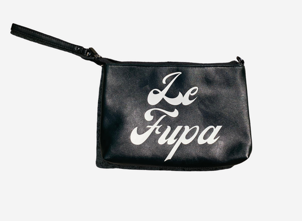 Le Fupa Faux Leather Pouch