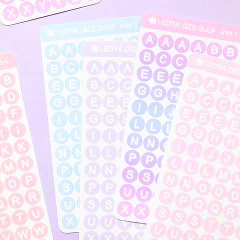Alphabet stickers, Confetti Stickers, Deco stickers, Kpop Stickers, Kpop journaling, Bullet Journal Stickers, Hand Draw Stickers, Doodle Stickers