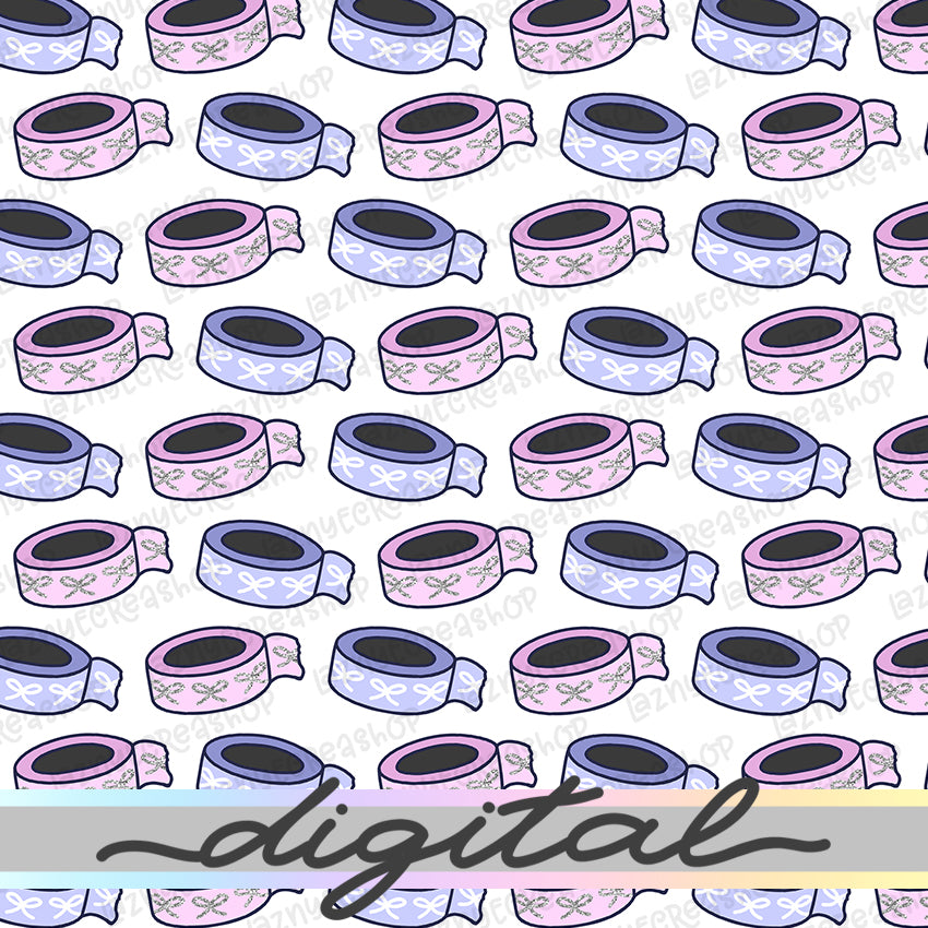 Printable Washi Digital Planner Paper, Paper Vellum, Doodle, Hand Draw, Cute, Bullet Journal, TN Vellum, JPG, PDF, Download