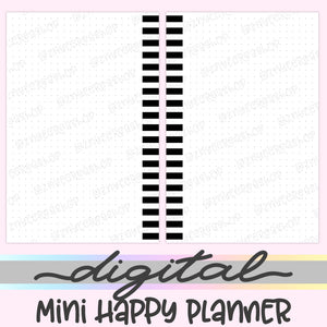 Printable Mini Happy Planner Dot Inserts, Dot Digital Mini Happy Planner Inserts, HP Inserts, PDF, Digital Download