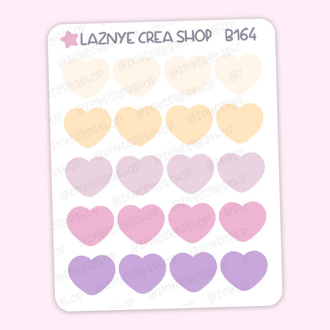 Heart Stickers, Coding Stickers, Deco Stickers, Kpop Bujo Stickers, Functional Stickers, Planner Stickers, Bullet Journal Stickers