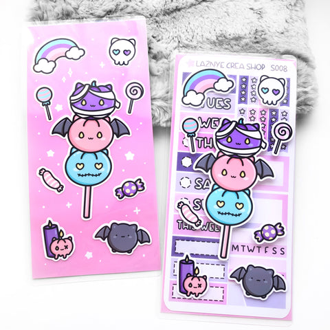 Halloween Sticker Pocket #L015