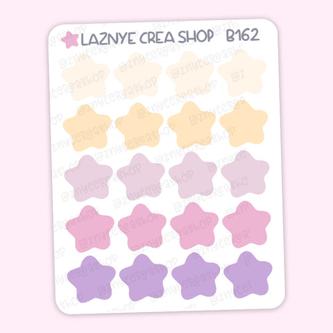 Star Stickers, Coding Stickers, Deco Stickers, Kpop Bujo Stickers, Functional Stickers, Planner Stickers, Bullet Journal Stickers