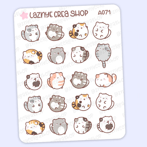 Cats Stickers #A071