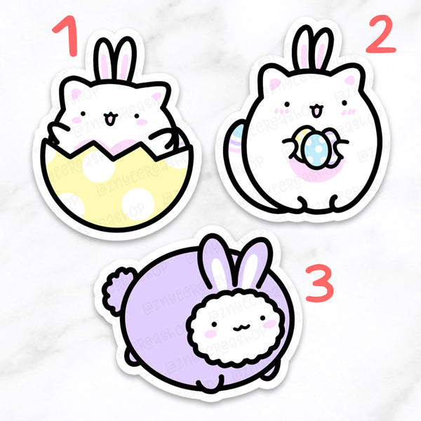 Easter Spring Cat Diecuts #F038