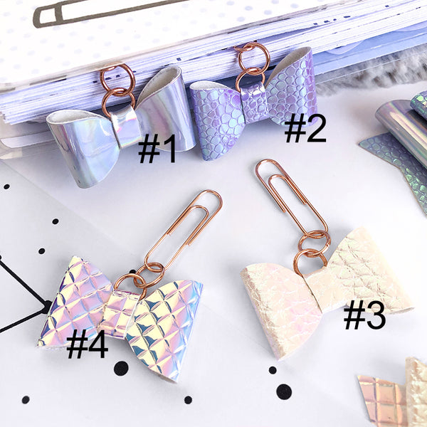 Bow Paper Clip Charms #O003
