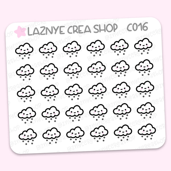 Weather Icon Stickers #C010