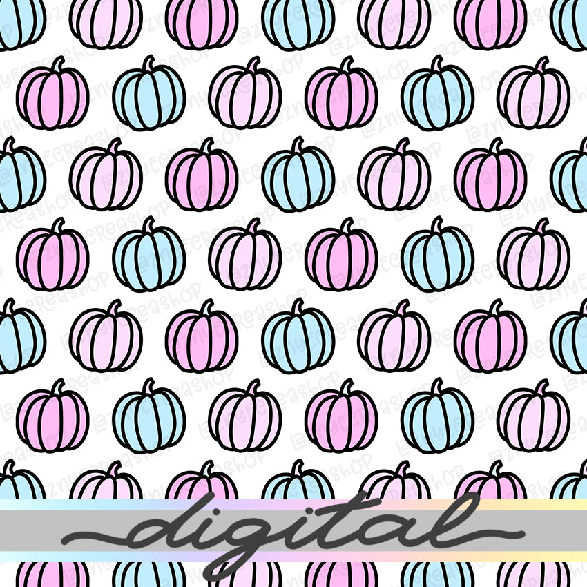 Printable Fall Pumpkin Digital Planner Paper, Pumpkin, Halloween, Fall, Autumn, Paper Vellum, Doodle, Hand Draw, Cute, TN Vellum, JPG, PDF, Download