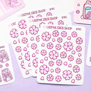 Sakura Flower Stickers