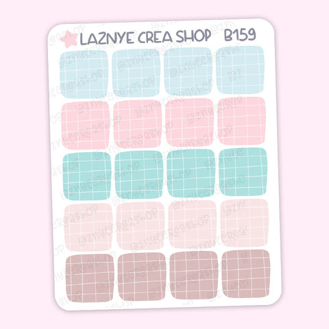 Box Stickers, Coding Stickers, Deco Stickers, Kpop Bujo Stickers, Functional Stickers, Planner Stickers, Bullet Journal Stickers