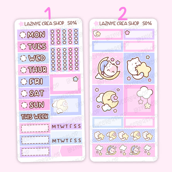 Moon PP Weeks Kit #S014