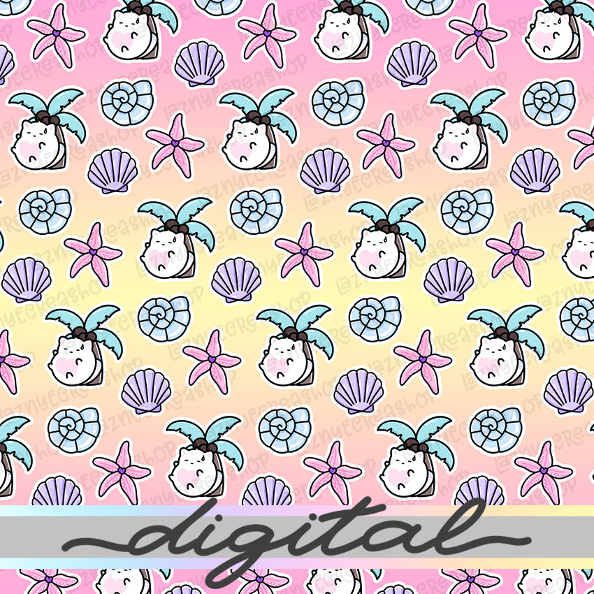 Summer Digital Paper #1396
