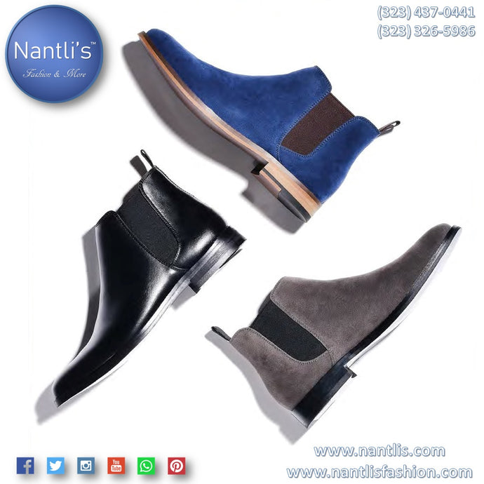 Casual and dress Boots for men