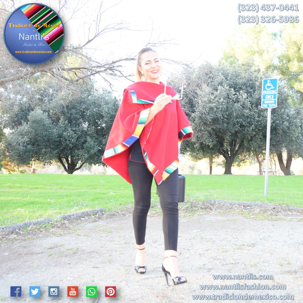 Gabanes de Mujer / Mexican Ponchos for Women