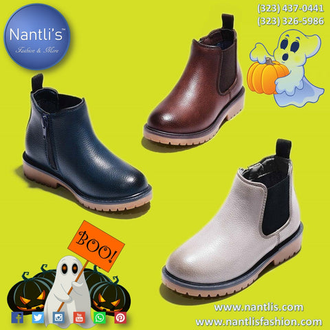 Happy Halloween Kids Footwear Nantlis