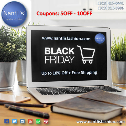 Black Friday Cyber MOnday Nantlis