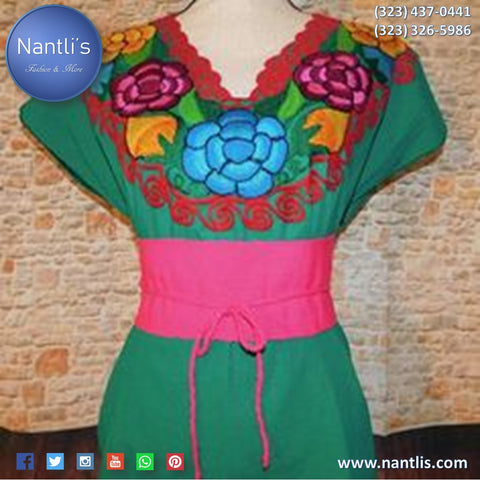Blusas Bordadas Mexicanas