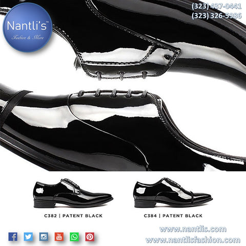 Tuxedo shoes for men