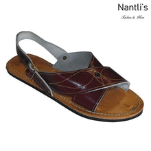 Load image into Gallery viewer, Huaraches BA-Cruzado Burgundy - Leather Sandals